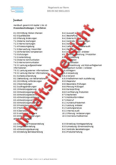 ISO 14971 Risikomanagementplan