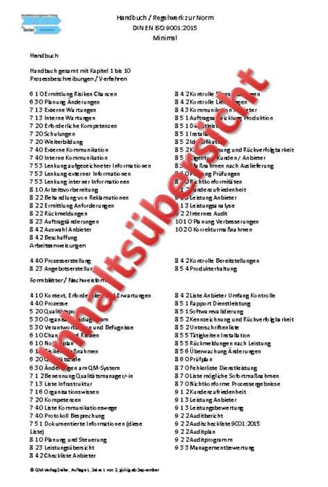 Musterhandbuch Handwerk